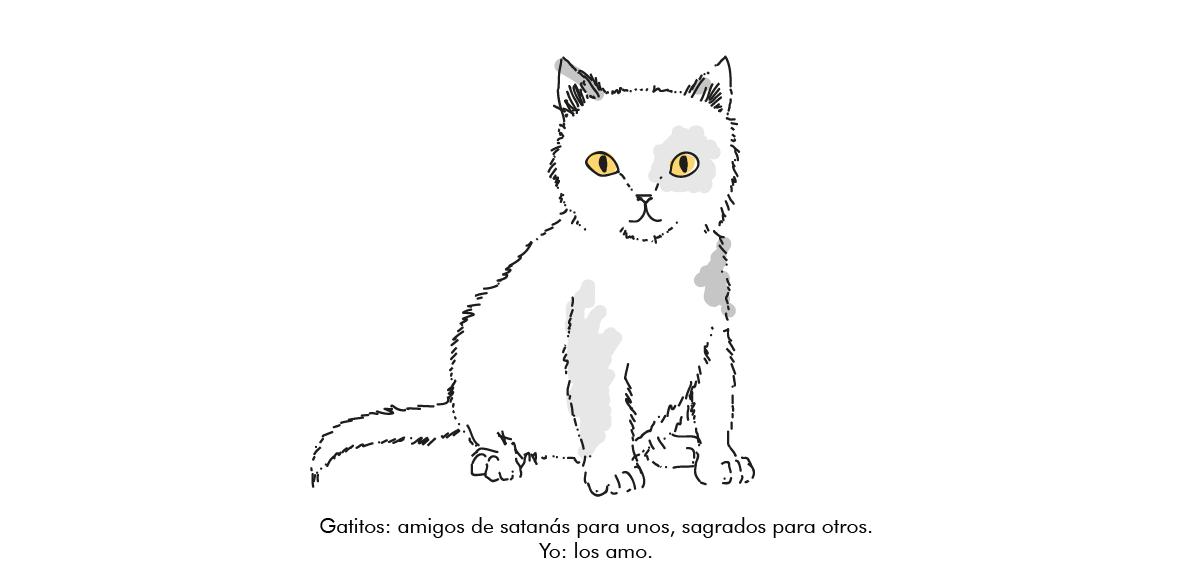 Gatitos: Sagrados para unos, malditos para otros.