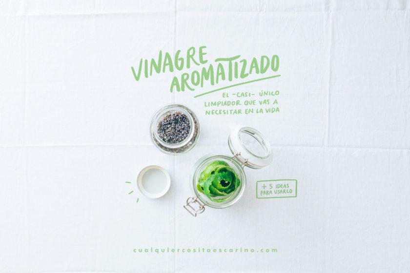 Vinagre aromatizado DIY