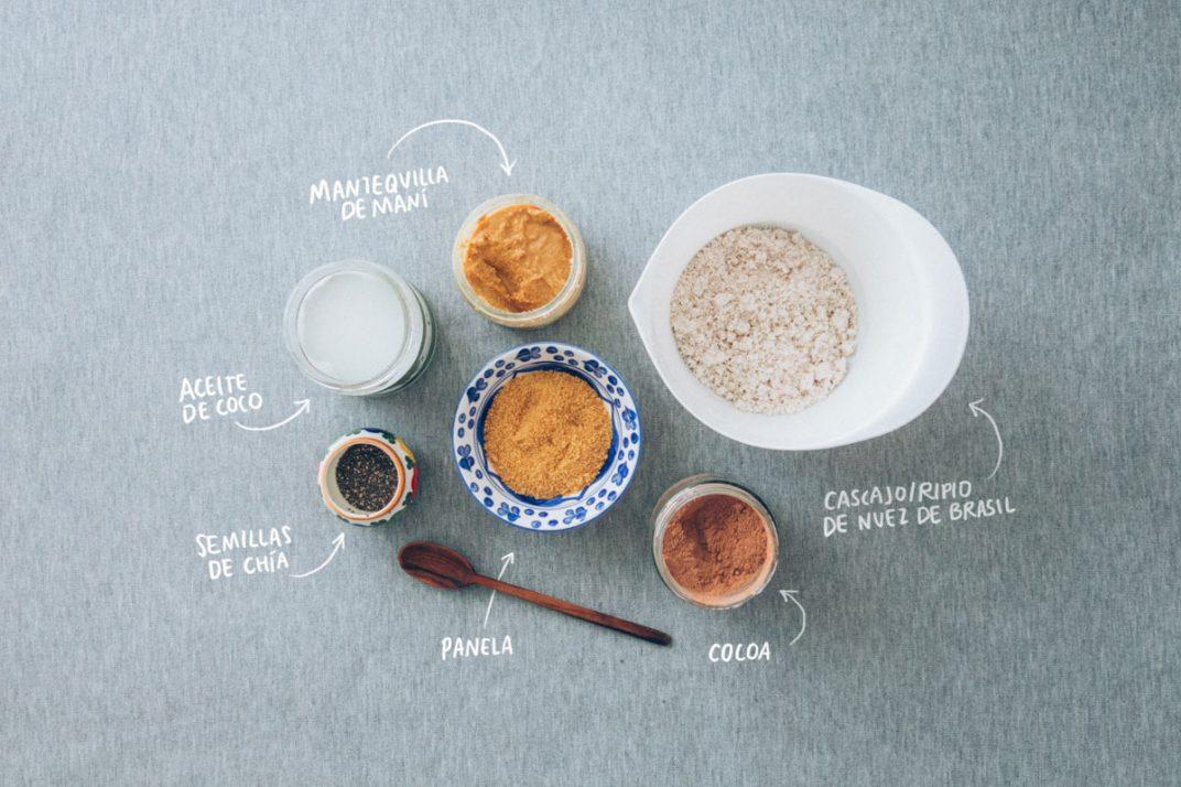 Bolitas poderosas, a partir del cascajo/ripio de las leches vegetales. Estos son los ingredientes para que prepares las tuyas.