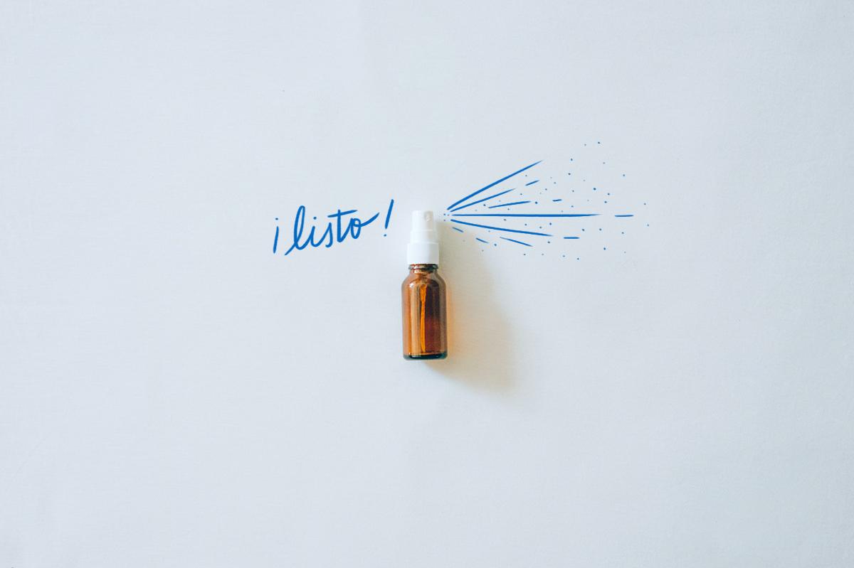 ¡Listo! · Desodorante en spray el conejo feliz