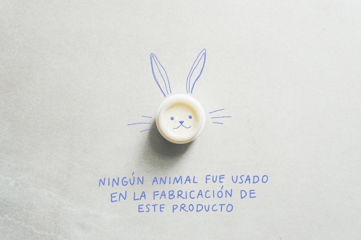Este producto no fue probado en animales