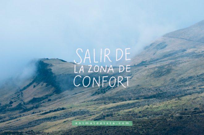 Salir de la zona de confort