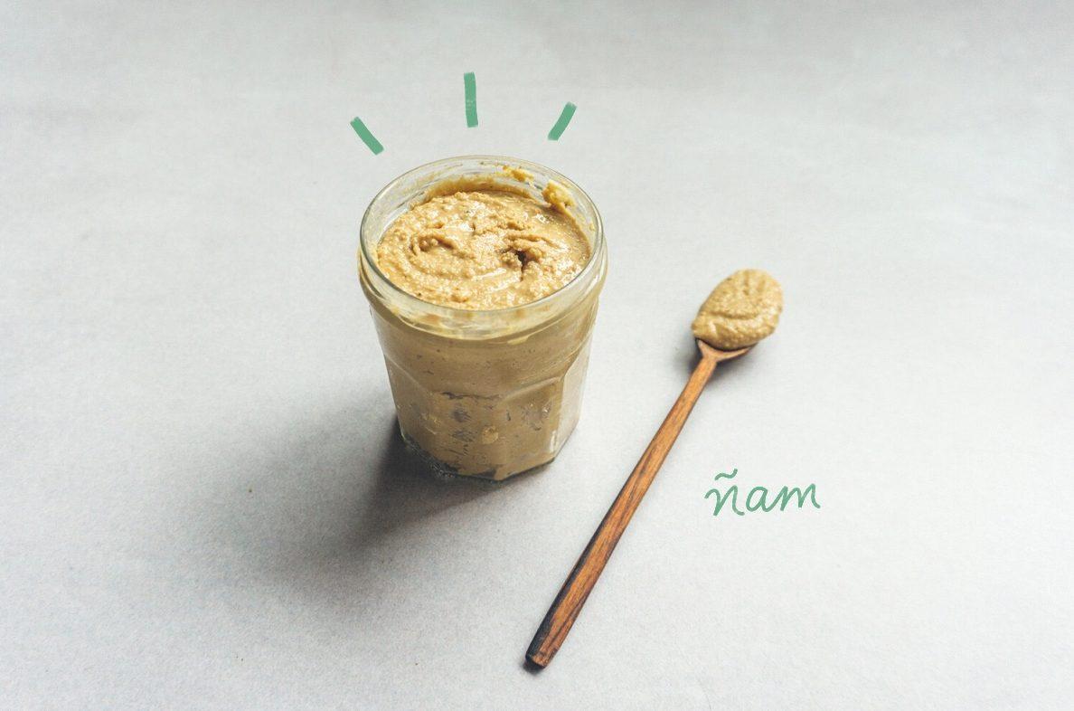 Verdadera mantequilla de maní - Ñam