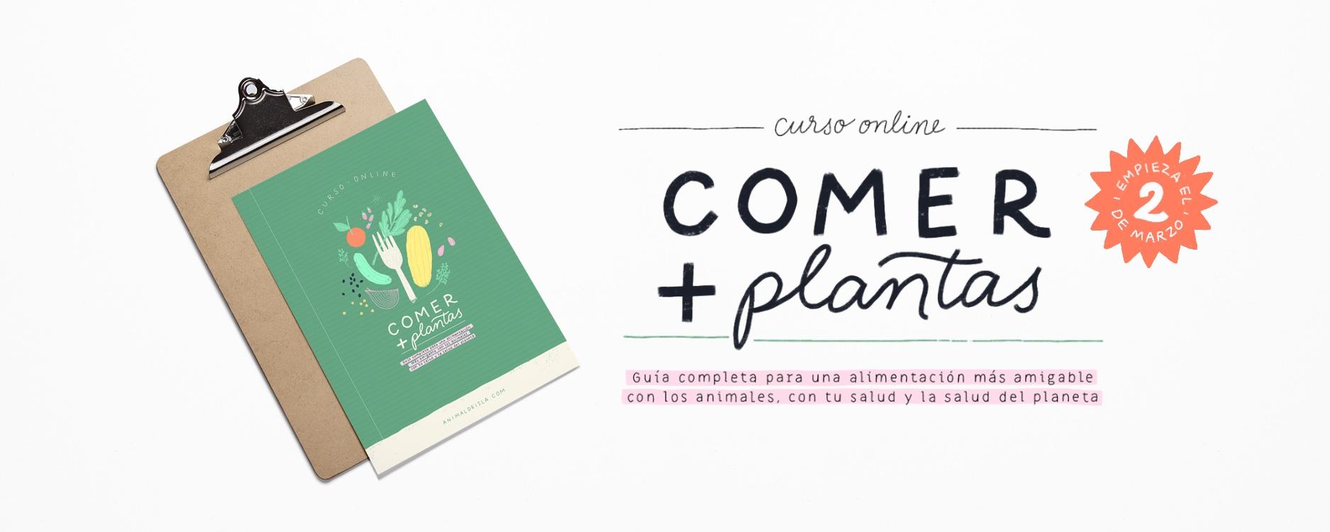 Comer + plantas | Curso online